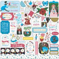 Echo Park - Alice In Wonderland No. 2 Element Sticker 12