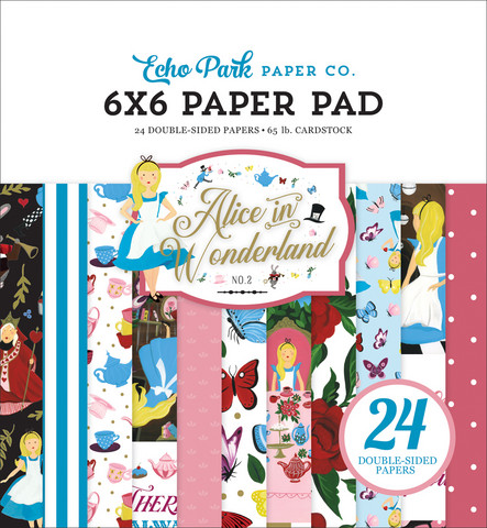 Echo Park - Alice In Wonderland No. 2 Paper Pad 6