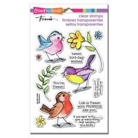 Stampendous - Sketchy Birds, Leimasetti