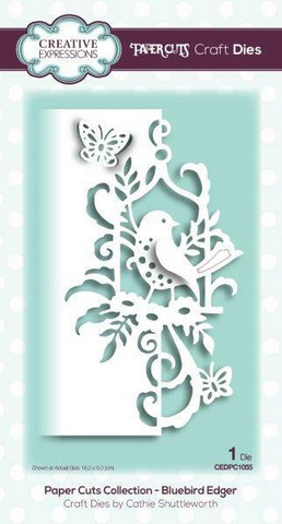Creative Expressions - Paper Cuts Collection Bluebird Edger, Stanssi