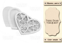 Fabrika Decoru - Shaker Dimension Set, Hearts In The Heart