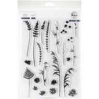 Pinkfresh Studio - Wild Flower Sketches, Leimasetti