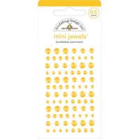 Doodlebug - Adhesive Mini Jewels, 84 osaa, Bumblebee