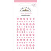 Doodlebug - Adhesive Mini Jewels, 84 osaa, Cupcake