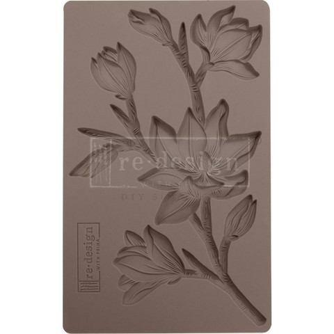 Prima Marketing - Decor Mould, Forest Flora, Silikonimuotti
