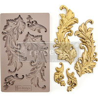 Prima Marketing - Decor Mould, Baroque Swirls, Silikonimuotti