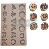Prima Marketing - Decor Mould, Regal Findings, Silikonimuotti