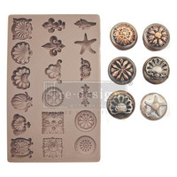 Prima Marketing - Decor Mould, Seashore Treasures, Silikonimuotti