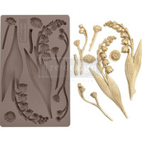 Prima Marketing - Decor Mould, Bell Orchids, Silikonimuotti