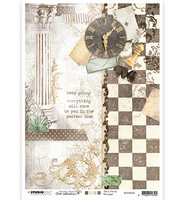 Studio Light - Jenine's Mindful Art, Rice Paper Nr.08