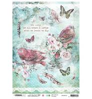 Studio Light - Jenine's Mindful Art, Rice Paper Nr.18