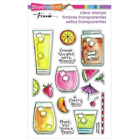 Stampendous - Fruity Drinks, Leimasetti
