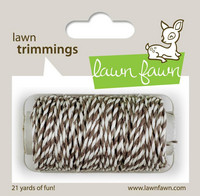 Lawn Fawn - Lawn Trimmings, Hot Cocoa
