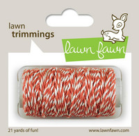 Lawn Fawn - Lawn Trimmings, Coral