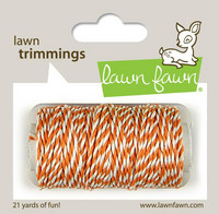 Lawn Fawn - Lawn Trimmings, Tangerine