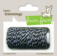 Lawn Fawn - Lawn Trimmings, Black Tie