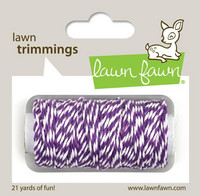 Lawn Fawn - Lawn Trimmings, Eggplant