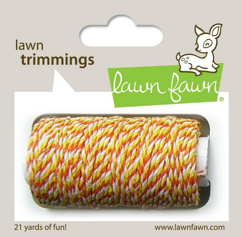 Lawn Fawn - Lawn Trimmings, Candy Corn