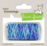 Lawn Fawn - Lawn Trimmings, Mermaid's Lagoon Sparkle