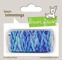 Lawn Fawn - Lawn Trimmings, Mermaid's Lagoon Sparkle