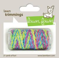 Lawn Fawn - Lawn Trimmings, Unicorn Tail Sparkle