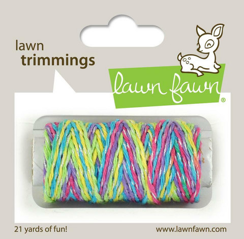 Lawn Fawn - Lawn Trimmings, Unicorn Tail Sparkle