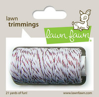 Lawn Fawn - Lawn Trimmings, Red Sparkle
