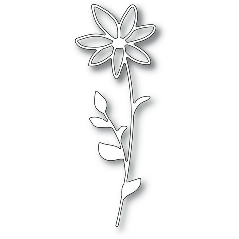 Memory Box - Single Daisy Stem, Stanssisetti
