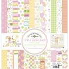 Doodlebug - Bundle Of Joy, Double-Sided Paper Pack 12