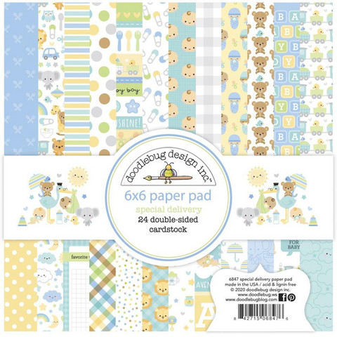 Doodlebug - Special Delivery, Double-Sided Paper Pad 6