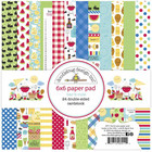 Doodlebug - Bar-B-Cute, Double-Sided Paper Pad 6