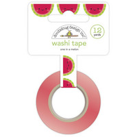 Doodlebug - Bar-B-Cute, Washi Tape 15mmX11m, One In A Melon