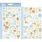 Doodlebug - Special Delivery Icons, Mini Cardstock Stickers, 2 arkkia