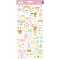 Doodlebug - Cardstock Stickers, Bundle Of Joy Icons