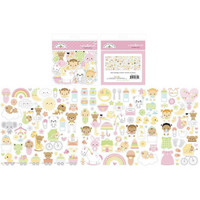 Doodlebug - Bundle Of Joy, Odds & Ends Die-Cuts, 132 osaa