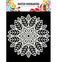 Dutch Doobadoo - Mandala Leaves 6