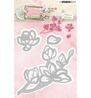 Studio Light - Stanssisetti, Embossing Die Cut Stencil Lovely Moments nr.212