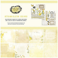 49 And Market - Vintage Artistry Butter, Collection Pack 12