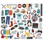Simple Stories - Bro & Co  Bits & Pieces Die-Cuts, 55 osaa