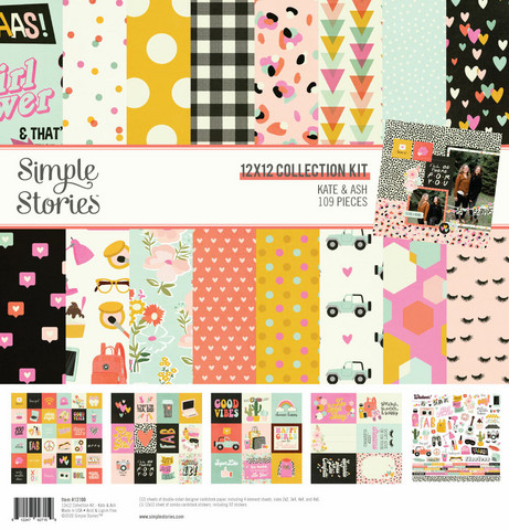 Simple Stories - Kate and Ash Collection Kit 12