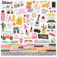 Simple Stories - Kate & Ash Combo Sticker 12