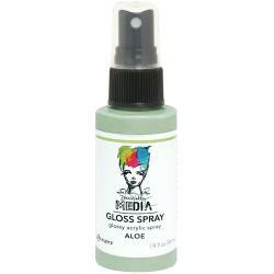 Dina Wakley - Media Gloss Spray, Aloe, 56ml