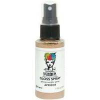 Dina Wakley - Media Gloss Spray, Apricot, 56ml