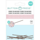We R - Button Press Bobby Pin Backers