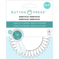 We R - Button Press Rosette Kit