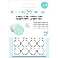 We R - Button Press Adhesive Foam, 40 kpl