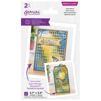 Gemini - Create a Card Die, Stanssisetti, Aged Argyle