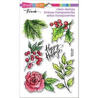 Stampendous - Leafy Holiday, Leimasetti