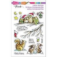Stampendous - Critter Christmas, Leimasetti