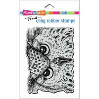 Stampendous - Owl Eyes, Leima